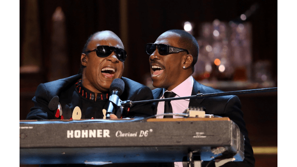 The Eddie Murphy and Stevie Wonder duet you've been waiting 30 years to see again