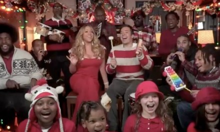 "Mariah Carey updates ""All I Want For Christmas"" with Jimmy Fallon, The Roots"