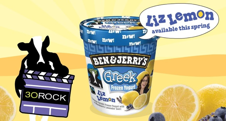 30 Rock's Liz Lemon lives on as Ben & Jerry's fro-yo flavor