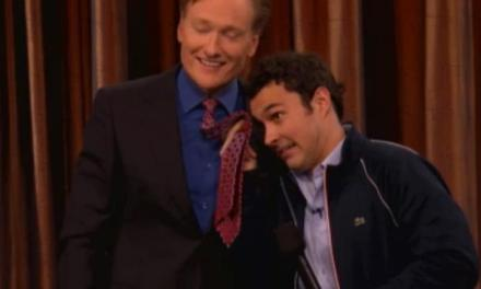 Mark Normand's late-night debut on Conan