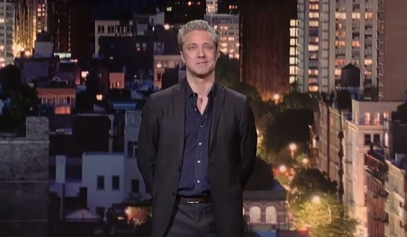On Letterman, Nick Griffin appeals to your younger, lazier self
