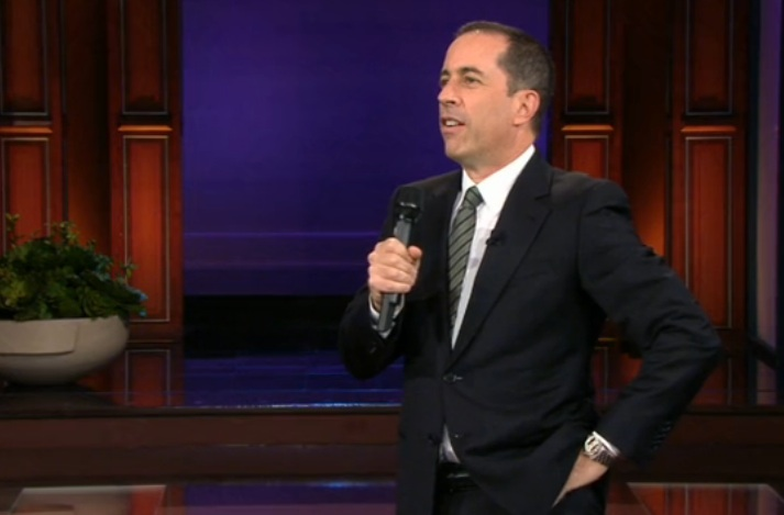 "Jerry Seinfeld revisits his ""Pop Tart"" joke on The Tonight Show with Jay Leno"
