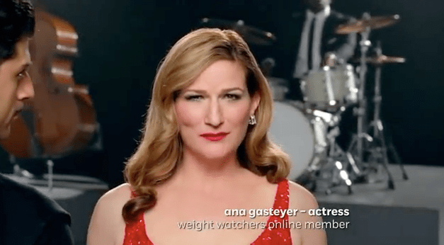 """They weren't offended. They hired me."" Ana Gasteyer Tweets her way to Weight Watchers ad campaign"
