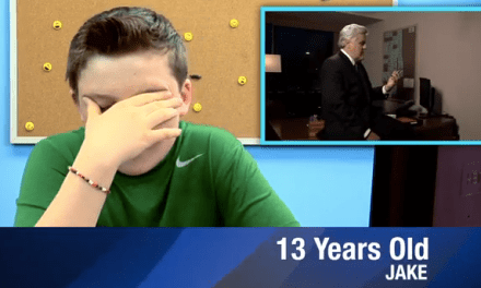"Kids React to Jay Leno and Jimmy Fallon's ""Tonight Show"" duet/tango"