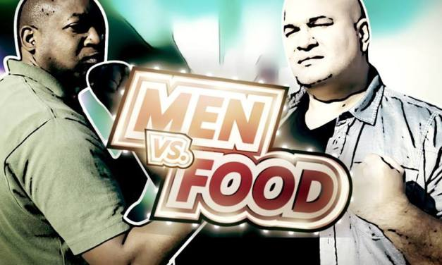 """Men Vs. Food"" Travel Channel pilot finds Robert Kelly, Sherrod Small eating their way across Miami"