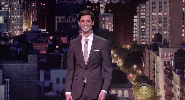 Adam Newman's network TV debut on Late Show with David Letterman