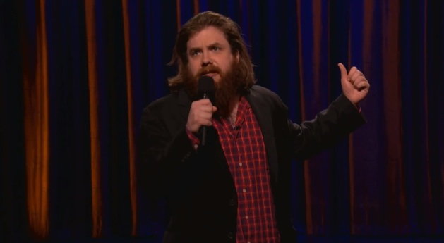 On Conan, Dan St. Germain has some sober realizations