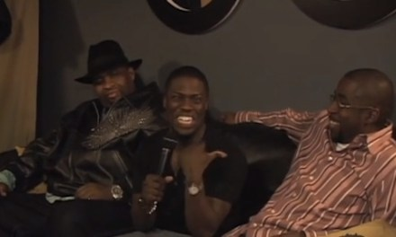 Kevin Hart with Patrice O'Neal and Keith Robinson in never-before-seen backstage footage from 2008