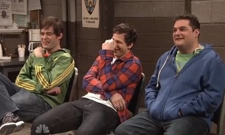 Supercut of SNL actors breaking character