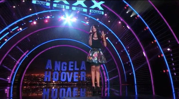 Angela Hoover's semifinal performance on America's Got Talent 2013