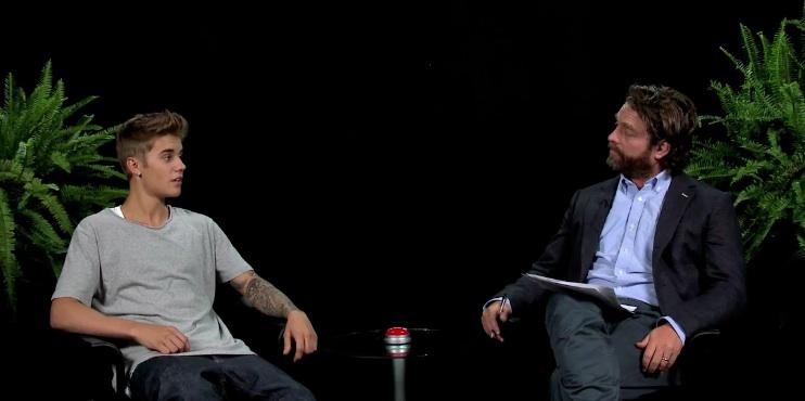 Between Two Ferns: Zach Galifianakis with Justin Bieber