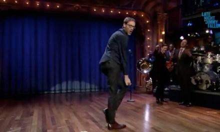 Watch Stephen Merchant challenge Jimmy Fallon, Joseph Gordon Levitt to a lip sync-off