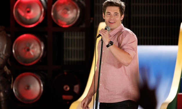 "Adam Devine on showcasing stand-ups in his Comedy Central ""House Party"" and being a successful Workaholic"