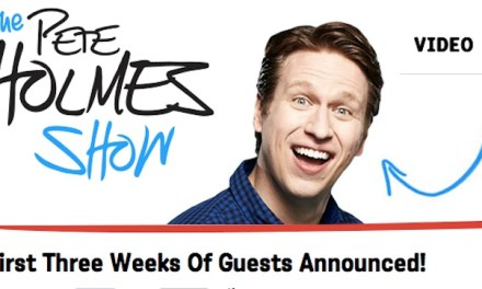 "Sneak peek at sneaky Pete Holmes impersonate Conan, check out first lineups, tapings for ""The Pete Holmes Show"" on TBS"