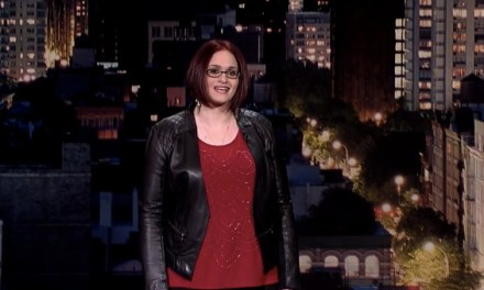 Adrienne Iapalucci's late-night debut on Late Show with David Letterman
