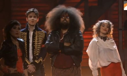 "Reggie Watts live music video, ""Information,"" on Conan"