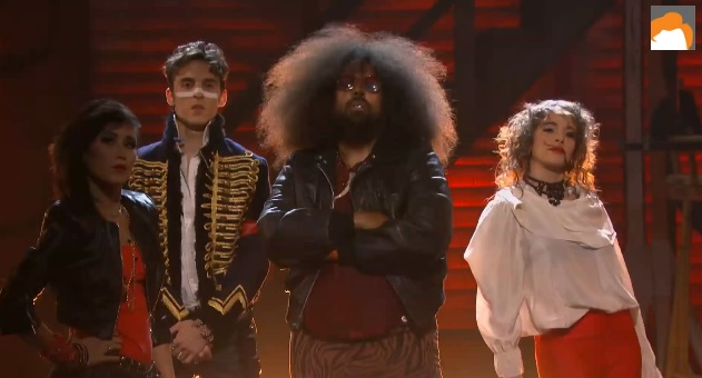 "Reggie Watts live music video, ""Information,"" on Conan"