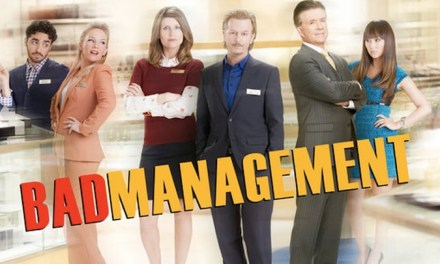 "Watch ABC's failed sitcom pilot from 2013, ""Bad Management,"" with David Spade, Sharon Horgan, Alan Thicke and Rachael Harris"