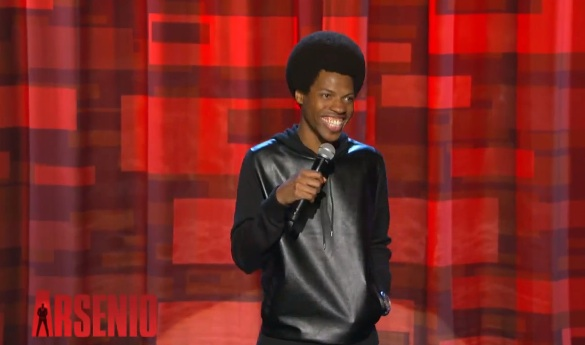 Mike E. Winfield on The Arsenio Hall Show