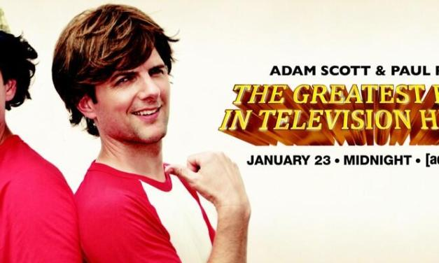 "Adam Scott and Paul Rudd re-enact Bosom Buddies for final ""Greatest Event in Television History"" on Adult Swim, but which Bosom Buddies intro?"