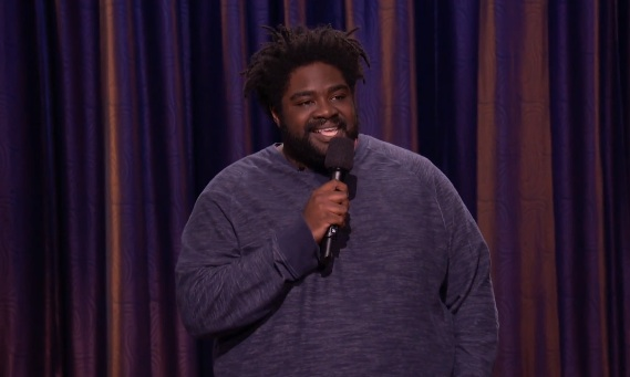 Ron Funches on Conan
