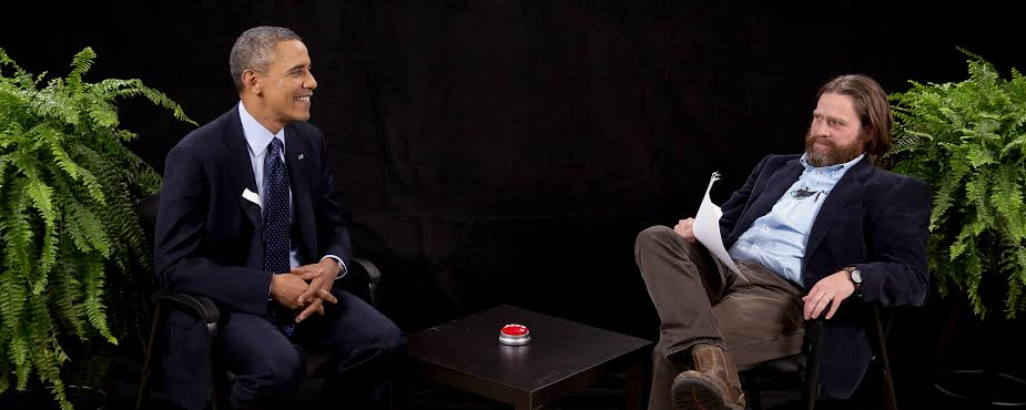 Healthcare.hahaha: President Barack Obama goes Between Two Ferns with Zach Galifianakis