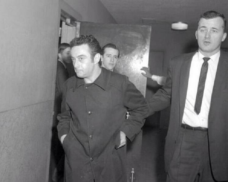 Comedians in Courthouses Getting Cuffed: Lenny Bruce and George Carlin, December 1962