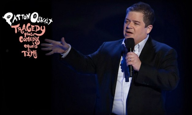 "Patton Oswalt, ""Tragedy Plus Comedy Equals Time"" (CD/DVD)"