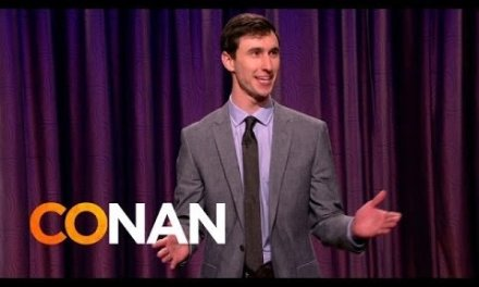 Rob Gleeson on Conan