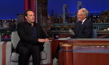When Vince Vaughn guest hosted Late Show with David Letterman in 2003