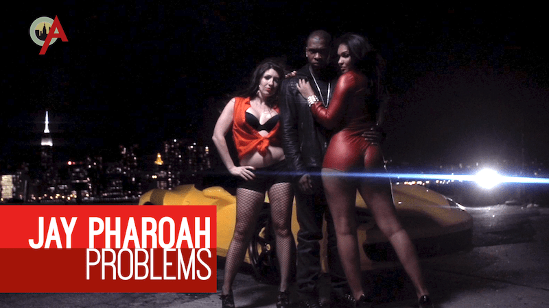 "Jay Pharoah raps about ""Problems"" in this music video"