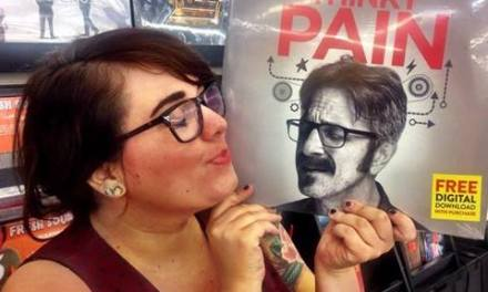 "Watch Marc Maron's ""Thinky Pain"" vinyl record while listening to it?!"