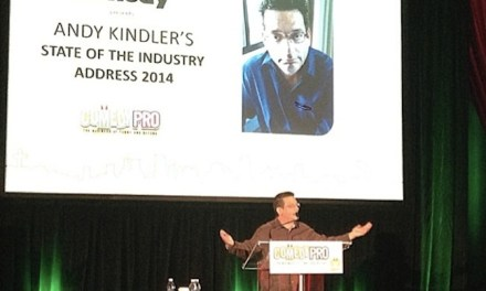 Andy Kindler's State of the Industry at Montreal's Just For Laughs 2014