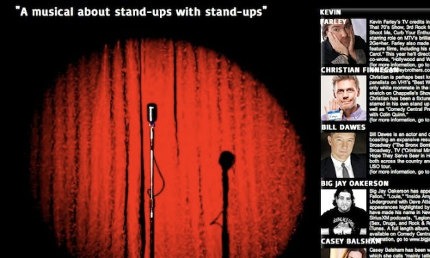 HA! The Musical, an Off-Broadway production about stand-up comedy starring stand-up comedians