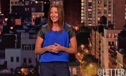 "Bonnie McFarlane on Letterman, and a plug for ""Women Aren't Funny"""