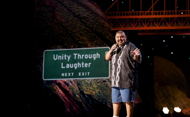 "Gabriel Iglesias on the big-screen in ""The Fluffy Movie"""