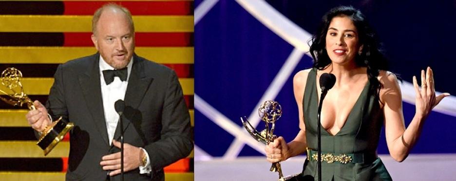 Louis C.K., Sarah Silverman win comedy writing awards at 2014 Emmys