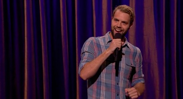 Brooks Wheelan on Conan