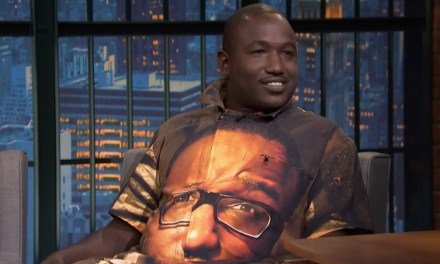 Hannibal Buress explains his larger-than-life jumpsuit face while on tour this summer and fall