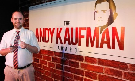 Dru Johnston on winning the 2014 Andy Kaufman Award
