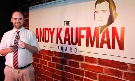 Dru Johnston on winning the 2014 Andy Kaufman Award