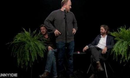 Brad Pitt: Between Two Ferns with Zach Galifianakis, and also Louis CK