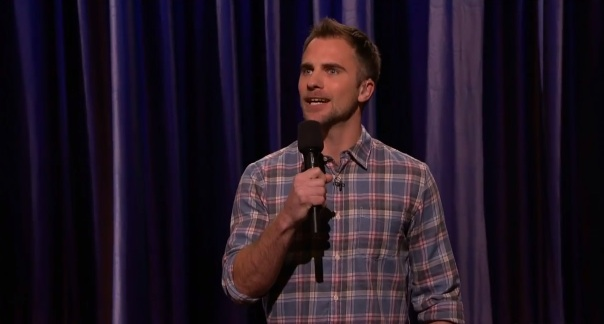 D.J. Demers makes his American TV debut on Conan