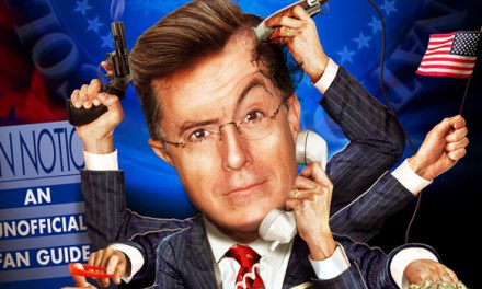 Bears & Balls: Writing the book on The Colbert Report