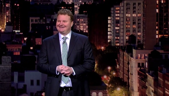 Michael Somerville on Late Show with David Letterman