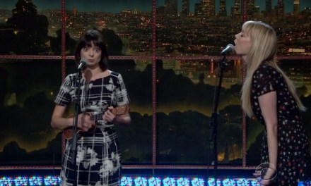 Garfunkel and Oates on The Late Late Show