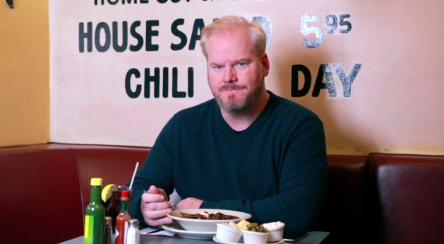 Jim Gaffigan's chili is contagious; live tour planned for summer 2015