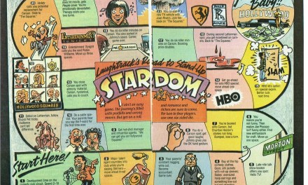 The Road to Stand-Up Stardom, circa 1989, via LaughTrack mag