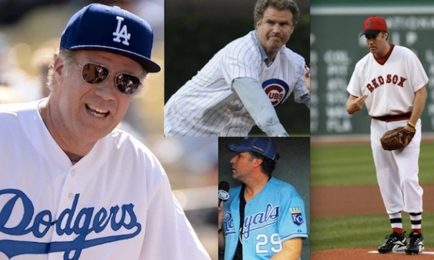 Will Ferrell to play for 10 MLB teams in one day for HBO/Funny or Die special to raise money for cancer research, programs