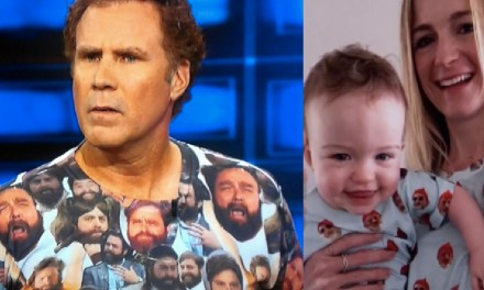 Where to buy those Zach Galifianakis and Bill Murray shirts, as worn by Will Ferrell and Jimmy Kimmel's family